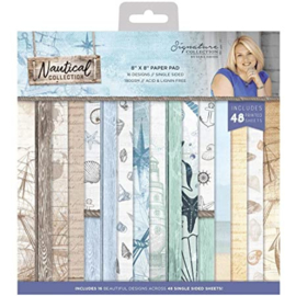 Nautical 8x8 Paper Pad - Crafter's Companion