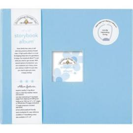 Bubble Blue Storybook Album 12-12 - Doodlebug
