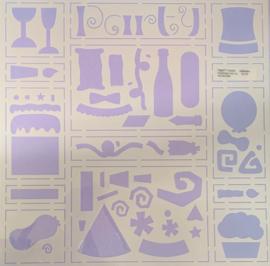 Celebration Template 12x12 - Paperz