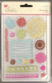Lola Blooms Clear Stamps