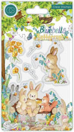Bluebells and Buttercups Clear Stamps - Craft Consortium
