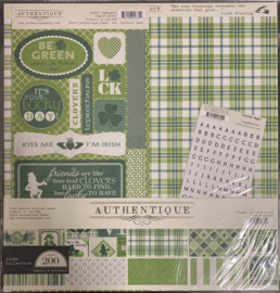 Lucky 12x12 Paper Kit - Authentique