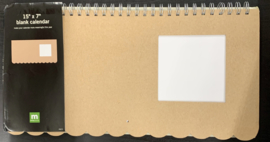 Blank Calendar 15x7 - Making Memories
