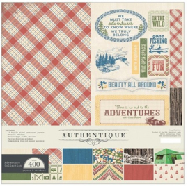 Adventure Collection Kit 12x12 Authentique