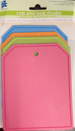 4 reversible cards & 4 vellum envelopes - Provo Craft