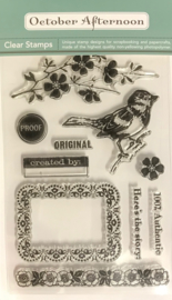 Real Vintage Clear Stamps