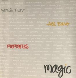 Transparant Word Magic 12x12 - Creative Imaginations