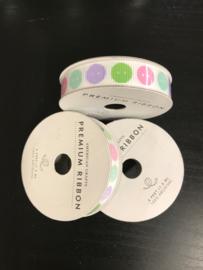 Spring Buttons Premium Ribbon