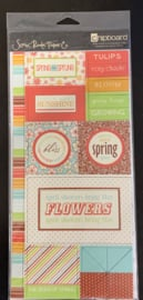 chipboard Charlotte Spring - Scenic Route
