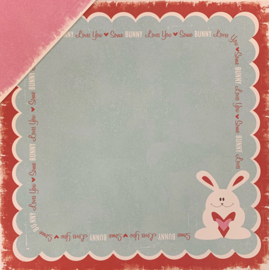 Heart Attack Honey Bunny - We R Memory Keepers
