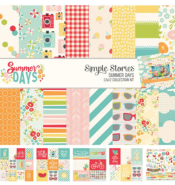 Summer Days 12x12 Paper Kit - Simple Stories