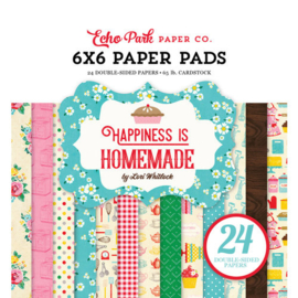 Happiness is Homemade by Lori Whitlock 6x6 Paper Pad - Echo Park
