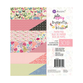 Julie Nutting Butterfly Bliss Paper Pad 6x6 - Prima Marketing