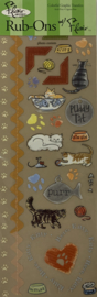 Cool Cat Rub-Ons - Flair Designs