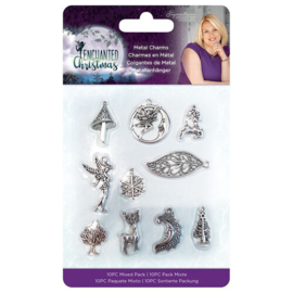 Enchanted Christmas Metal Charms - Crafters Companion