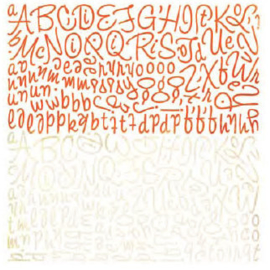 Alphabet Stickers - Ambrosia Collection Basic Grey