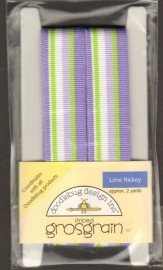 Striped Grosgrain Lime Ricky Doodlebug Design