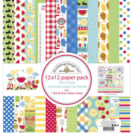 Bar-B-Cute Paper Pack - Doodlebug