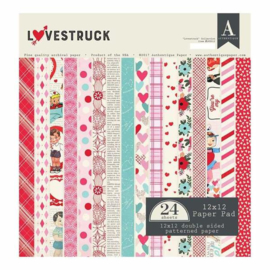 Lovestruck Collection paper pad - Authentique