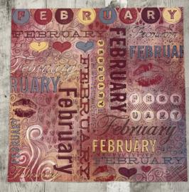 February Doodle - Karen Foster