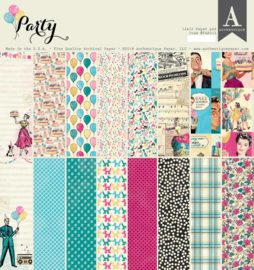 Party paper pad 12x12 - Auhentique