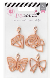 Bella Rouge Charms Pink Paislee
