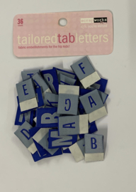 Tailored Tabs Letters - ScrapWorks