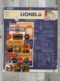 Lionel Scrapbook Kit Trains - Creative Imaginations