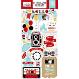 Magical Adventure 2 Chipboard Accents Stickers - Echo Park