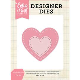 Designer Dies Stitched Hearts - Echo Park
