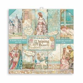 Sleeping Beauty 8x8 Paper Pack - Stamperia