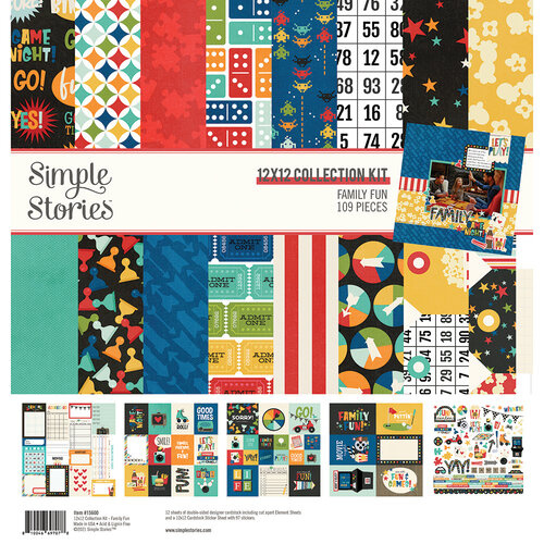 Family Fun 12x12 Collection Kit - Simple Stories