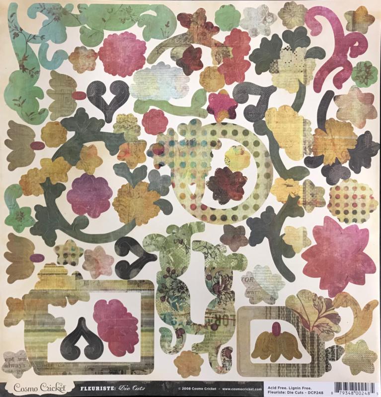Die-cuts - Fleuriste Collection
