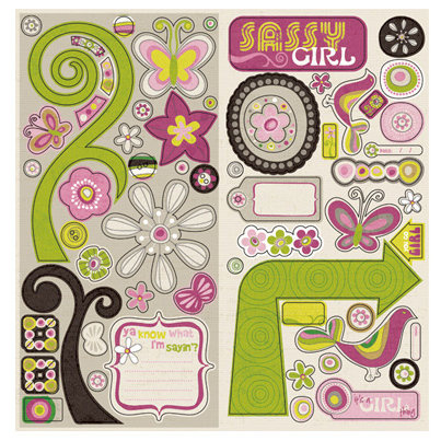 Chipboard Accents Bliss Collection - Crate Paper