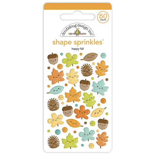 Shape Sprinkles Happy Fall - Doodlebug