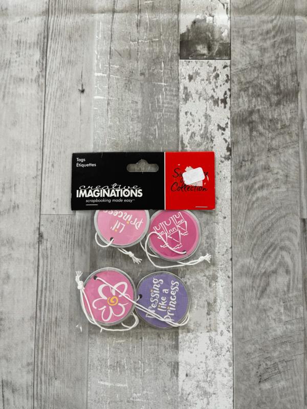 Signature Collection Princess Tags - Creative Imaginations