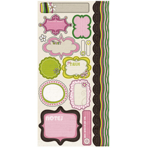 Journal Stickers Bliss Collection - Crate Paper