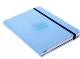 Wildlife Sky Blue Great Barrier Reef dotted notebook A5+
