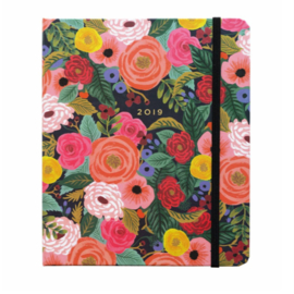 17-maanden covered Planner 2019 Rifle Paper Co Juliet Rose