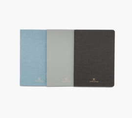 Appointed Linen Jotter Bundle (set van 3) grid