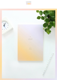 Slow and Steady 4-maanden planner (datumloos)