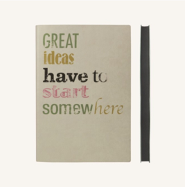 Signature Inspiro Lined Notebook - A5, Apple Sauce