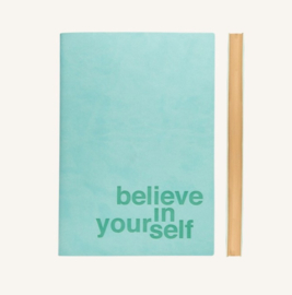 Signature Inspiro Lined Notebook - A5, Blue
