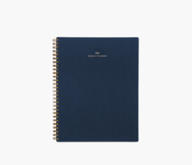 Appointed 2018-2019 Weekly Notebook Planner in Oxford Blue