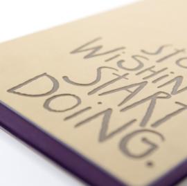 Signature Inspiro Lined Notebook - A5, Caramel