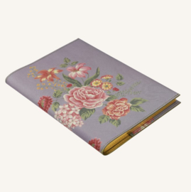 Flower Wow Lined Notebook - A5, Mauve