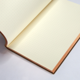 Signature Art Deco Dotted Notebook - A5, Weave
