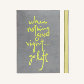 Signature Inspiro Lined Notebook - A5, Grey