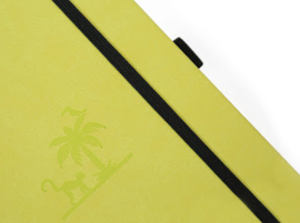 Earth Lime Yasuni dotted notebook A5+