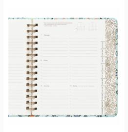 17-maanden covered Planner 2019 Rifle Paper Co Wildwood